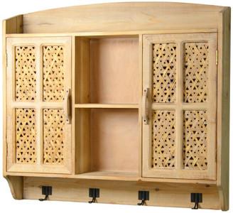 American Mercantile Wood Wall Cabinet