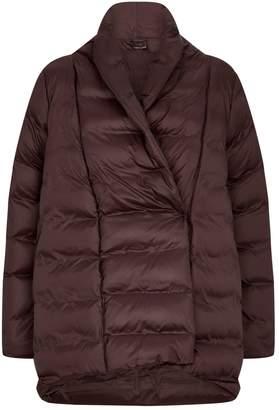 Eileen Fisher Puffer Shawl-Collar Coat