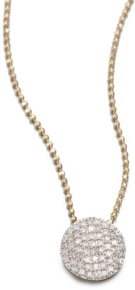 Phillips House 14K Gold & Diamond Mini Infinity Pendant Necklace
