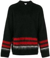 Loewe striped trim jumper - men - Polyamide/Polypropylene/Mohair/Wool - L