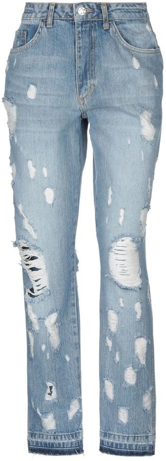 Silvian Heach Denim pants - Item 42700919GL