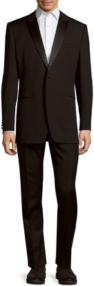 Ike Behar Ike Evening By Slim-Fit Wool Tuxedo