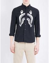 A Bathing Ape Shark Cotton Shirt