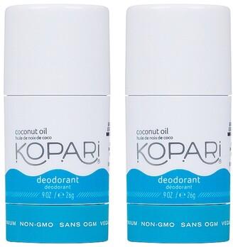 Kopari Coconut Deodorant Mini Duo