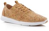 Toms Men's Del Rey Cork Paint Splatter Lace Up Sneakers