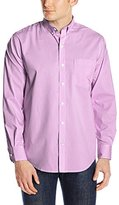 Izod Men's Advantage Performance Non Iron Stretch Long Sleeve Shirt