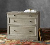 Pottery Barn Livingston Double 2-Drawer Lateral File Cabinet