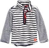 Joules Girl's Half Zip Fleece Pullover
