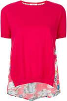 Blugirl pin up print T-shirt
