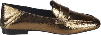 Michael Kors Metallic Loafers