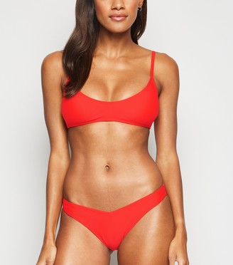 New Look Low Rise V Front Bikini Bottoms