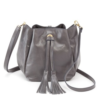 Hobo Puck Convertible Leather Bucket Bag