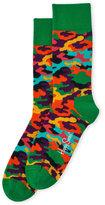 Happy Socks Bark Camo Socks