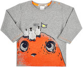 "Billy Bandit Cotton ""Oops!"" T-Shirt-GREY"