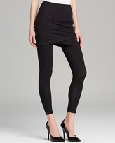 Lysse Ruched Skirt Crop Leggings