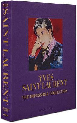 """Assouline """"Yves Saint Laurent: The Impossible Collection"""" Book"""