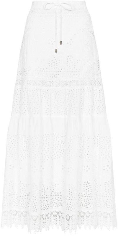 Melissa Odabash Alessia Broderie Anglaise Maxi Skirt