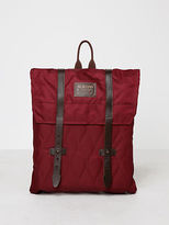 Burton Taylor Pack Quilted Zinfandel Backpack In Maron size One Size