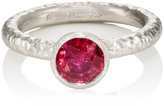 Malcolm Betts Women's Ruby & Platinum Ring
