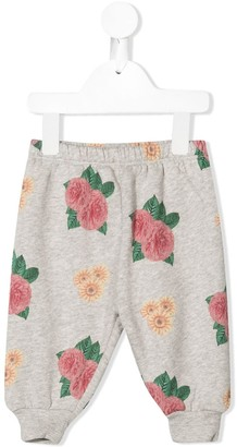 The Animals Observatory Floral-Print Track Pants