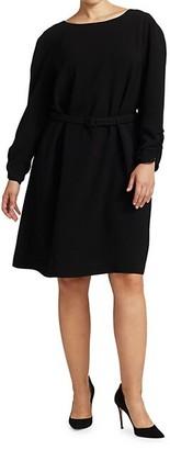 Lafayette 148 New York, Plus Size Romilly Dora Belted Dress