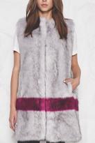 UNREAL FUR Faux Fur Orchid Vest