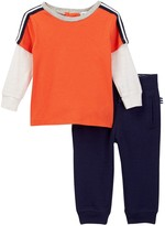 Splendid Two-Fer Top & Pant Set (Baby Boys)