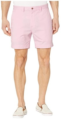 Polo Ralph Lauren Classic Fit Bedford 6 Shorts (Blue) Men's Clothing
