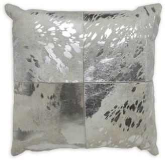 Callisto Home Stenciled Calf Hair Pillow