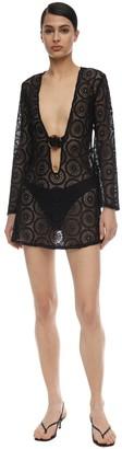 Dodo Bar Or Jane Cotton Crocheted Mini Dress