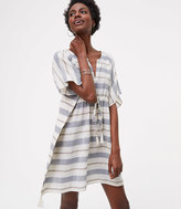 LOFT x Village Ways Striped Caftan