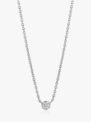 Sif Jakobs Jewellery Small Cubic Zirconia Pendant Necklace