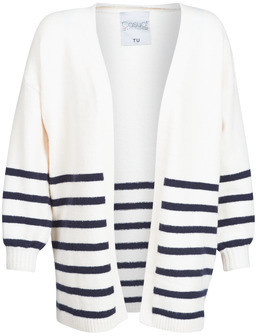 Casual Attitude KIRILE women's Cardigans in White