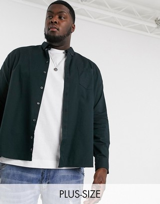 Burton Menswear Big & Tall shirt in green