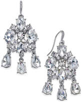 Charter Club Silver-Tone Cubic Zirconia Drop Earrings, Only at Macy's
