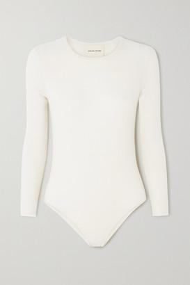 LOULOU STUDIO Pietra Cashmere-blend Bodysuit - Ivory
