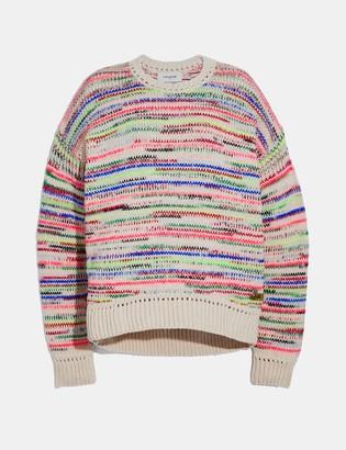 Coach Summer Stripe Sweater