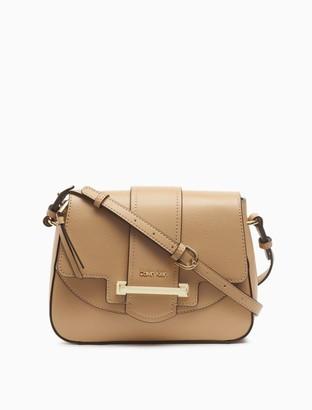 Calvin Klein Amara Leather Crossbody Bag