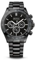 Hugo Boss 1512961 Chronograph Ionic Black Plated Steel Strap Quartz Watch One Size Assorted-Pre-Pack