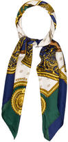 Hermes Selles a Housse Silk Scarf