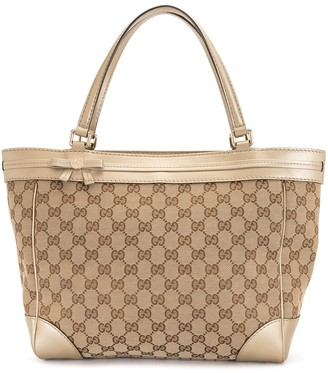 Gucci Pre Owned GG pattern tote bag