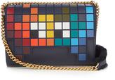 Anya Hindmarch Space Invaders Ephson leather shoulder bag