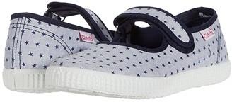 Cienta 56055 (Infant/Toddler/Little Kid/Big Kid) (Navy) Girl's Shoes