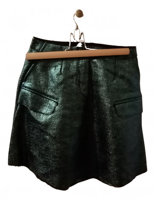Carven Green Synthetic Skirts