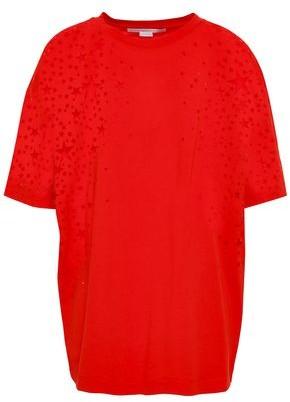 Stella McCartney Burnout Stretch-jersey T-shirt