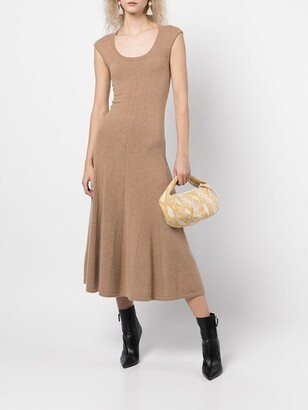 Polo Ralph Lauren Scoop-Neck Cashmere Dress