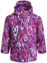 Kamik Printed Rain Jacket - Waterproof (For Little Girls)