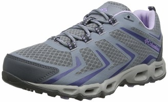 Columbia Women's Ventrailiaa 3 Low Outdrya Rise Hiking Boots Turquoise (Cloudburst Silver Grey 336) 5 UK 38 EU