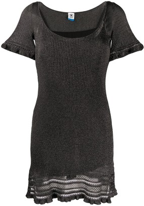 M Missoni ribbed T-shirt dress