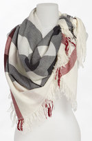 Burberry Women's Check Merino Wool Scarf